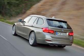 The new BMW 3 Series Touring, Model Luxury Line (05/2015)  Platinum Silver metallic.