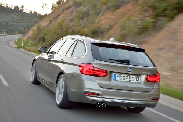 The New Bmw 3 Series Touring Model Luxury Line 05 2015