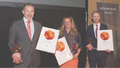Verleihung Universum Award 2015 Kategorie