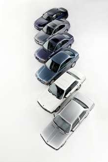 40 anniversary BMW 3 series, modelrange E21 to F30, (05/2015)