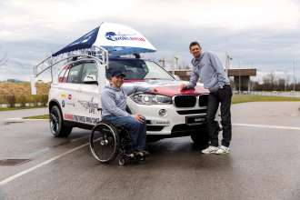 BMW ist National Automotive Partner des Wings for Life World Run in Österreich (04/2015)