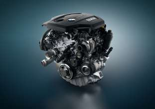 BMW TwinPower Turbo three-cylinder diesel engine (05/2015)