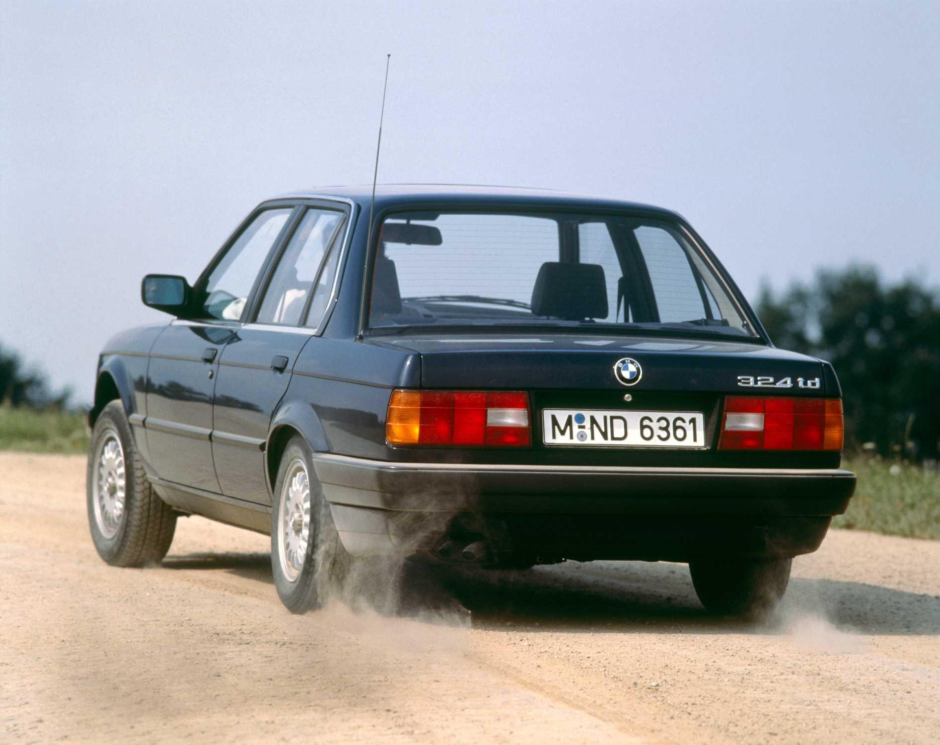 40 Anniversary Bmw 3 Series Modelrange E30 Production 1983 1990 05 2015