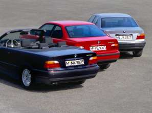 40 anniversary BMW 3 series, modelrange E36, Production 1990-1998, (05/2015)