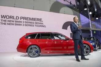 Die neue BMW 3er Reihe, Weltpremiere, BMW Museum, 7. Mai 2015 -  Dr. Ian Robertson, Mitglied des Vorstands der BMW AG, Vertrieb und Marketing BMW