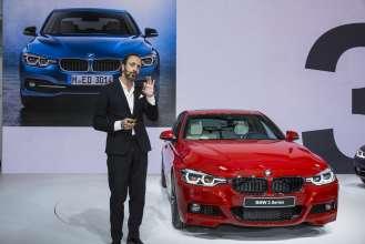 Die neue BMW 3er Reihe, Weltpremiere, BMW Museum, 7. Mai 2015 -  Karim Habib, Leiter BMW Design