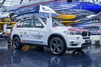 Wings for Life World Run 2015, Austria. Das Catcher Car ist noch bis Ende Mai im Hangar 7 ausgestellt. (05/2015)