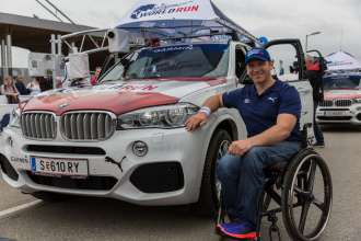 Wings for Life World Run 2015, Austria. Catcher Car Fahrer Reini Sampl (05/2015)