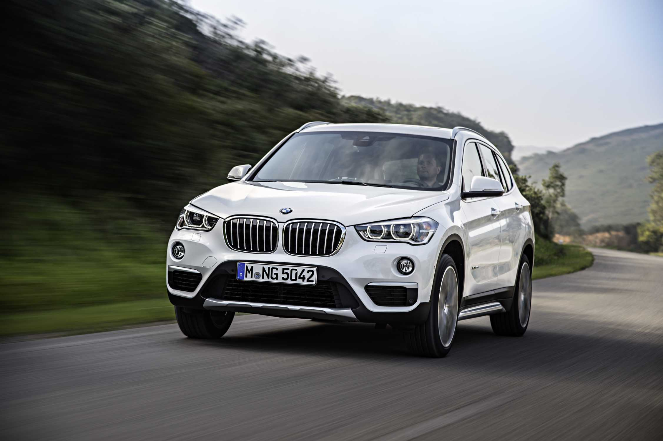 the all-new bmw x1.