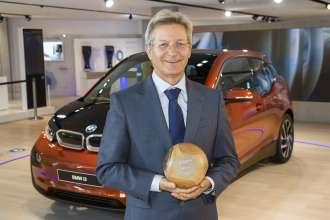 GreenTec Award für den intermodalen Routenplaner bei BMW i - Elmar Frickenstein, BMW Group, Leiter Elektrik/Elektronik und Fahrerarbeitsplatz (05/2015)