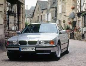 BMW 7 Series saloon - third generation BMW 7 Series, E38 (06/2015).