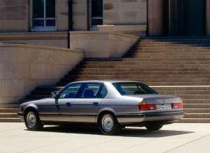 BMW 750iL - second generation BMW 7 Series, E32 (06/2015).