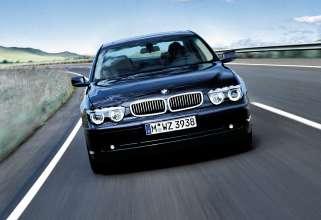 BMW 7 Series saloon - fourth generation BMW 7 Series, E65/E66 (06/2015).
