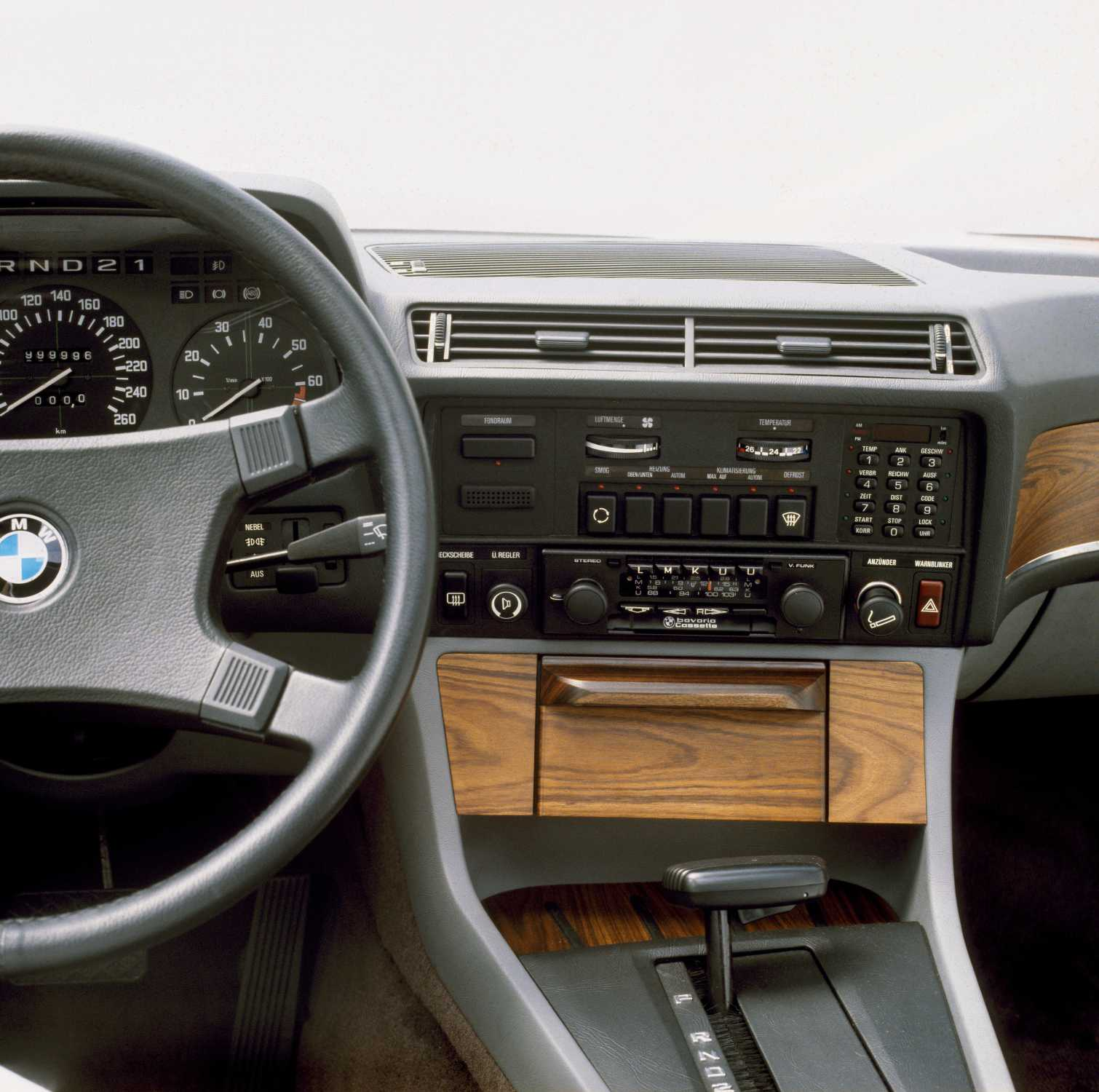 Bmw 745i On Board Computer And Air Conditioning First