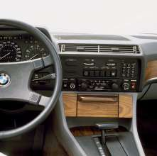 BMW 745i on-board computer and air conditioning - first generation BMW 7 Series, E23 (06/2015).