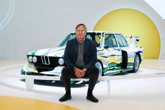 Jochen Neerpasch, one of the founding fathers of the BMW Art Car Collection. (c) BMW AG Photo:Christian Kain (05/2015)