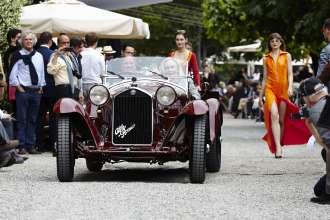 Concorso d'Eleganza Villa d'Este 2015 - Best of Show - Alfa Romeo 8C 2300 Spider aus dem Jahre 1932, (05/2015)