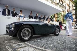 Concorso d'Eleganza Villa d'Este 2015 - Coppa d'Oro - Ferrari 166M Barchetta aus dem Jahr 1950, (05/2015)