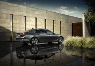 The new BMW 7 Series 750Li xDrive with Design Pure Excellence (06/2015).