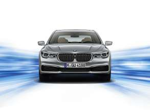 The new BMW 7 Series 740Le (06/2015).