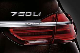 The new BMW 7 Series 750Li xDrive BMW Individual (06/2015).