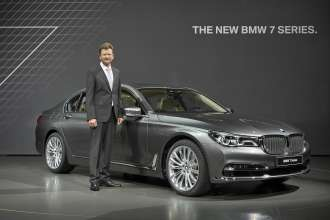 Klaus Fröhlich - Member of the Board of Management of BMW AG, Development;  Presentation of the new BMW 7 Series, Munich, BMW Welt, 10 June 2015 (06/2015).