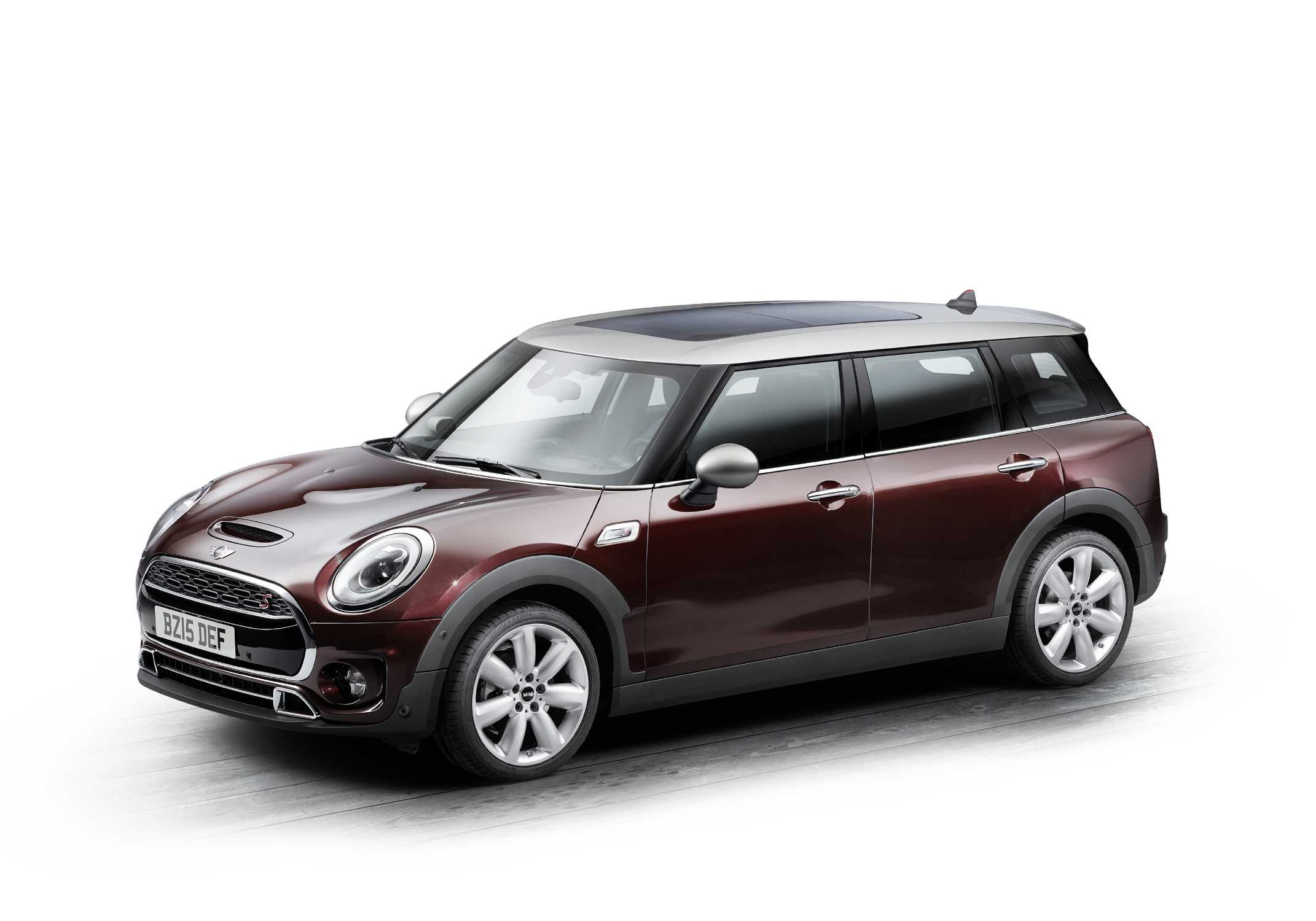 the new mini clubman pure burgundy metallic 06 2015. Black Bedroom Furniture Sets. Home Design Ideas