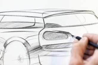 Sketch MINI Clubman. (06/2015)