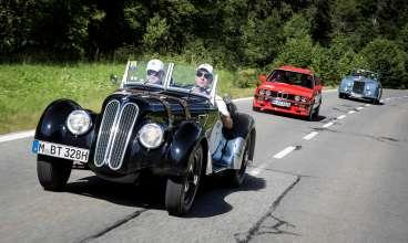 BMW Group Classic auf der Silvretta Classic Rallye 2015. (07/2015)