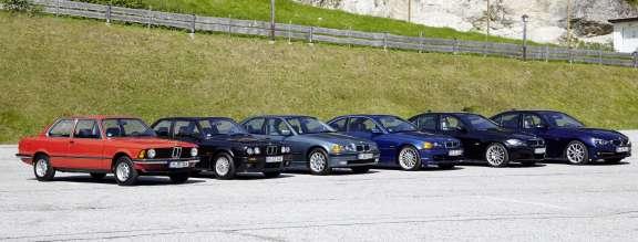 40 years BMW 3 Series.