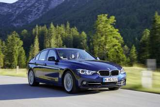 BMW 340i, Colour: mediterranean blue. Leather: Dakota Oyster. Sport Line. (07/2015)