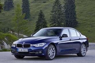 BMW 340i,Mediterranblau metallic. Leder: Dakota Oyster. Sport Line. (07/2015)