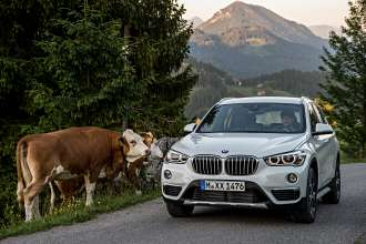 The new BMW X1. On location pictures BMW X1 xDrive25d with xLine.