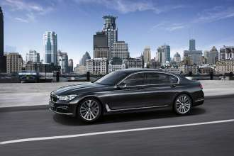 The new BMW 7 Series 750Li xDrive with Design Pure Excellence (07/2015).