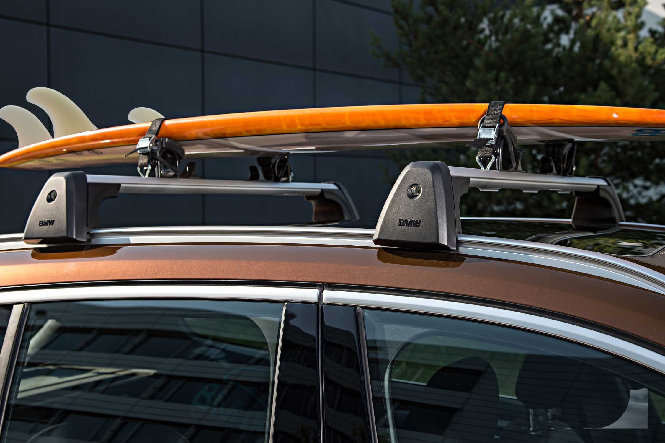 The New Bmw X1 On Location Pictures Base Support System Surfboard