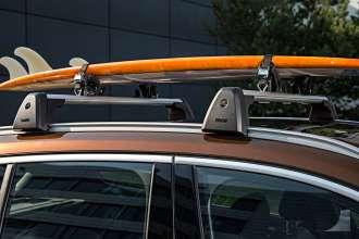 Der neue BMW X1. On Location Bildmaterial. Relingträger. Surfboardhalterung. (07/2015)
