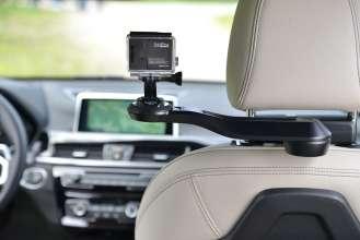 Der neue BMW X1. On Location Bildmaterial. Travel & Comfort Halter für GoPro Kameras. (07/2015)