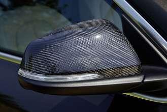 Der neue BMW X1. On Location Bildmaterial. Außenspiegelkappen Carbon. (07/2015)