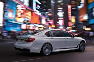 The new BMW 7 Series 750Li xDrive with M Sport Package (07/2015).