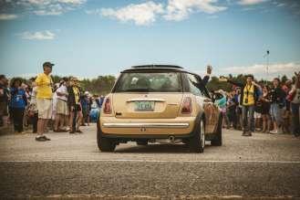 MINI on the Mack 2015. (08/2015)