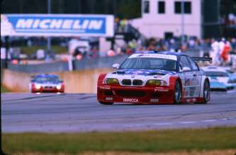 M3 GTR No. 6 in action PLM Oct 2001