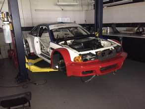 M3 GTR No. 6 under restoration nearing completion.