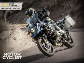 The BMW R 1200 GS Adventure won