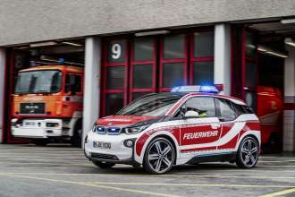 BMW i3 fire brigade command vehicle (09/2015)
