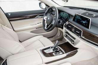 The new BMW 730d (08/2015).