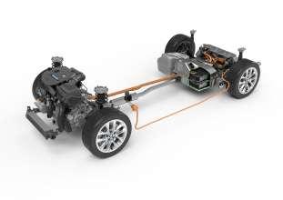 BMW 225xe, BMW 2er Active Tourer mit eDrive, Antriebsstrang (09/2015)
