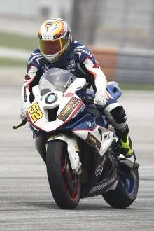 Sepang (MAL) 13rd September  2015. BMW  Team Rider Nasarudin Mat Yusop  #52 (MAL) riding the BMW S1000RR. This image is copyright free for editorial use © BMW AG