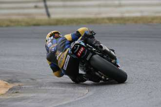 New Jersey (USA) 13rd August 2015. Team BMW Waznie Racing Rider Jordan Szoke  #110 (CAN) riding the BMW S1000RR. This image is copyright free for editorial use © BMW AG