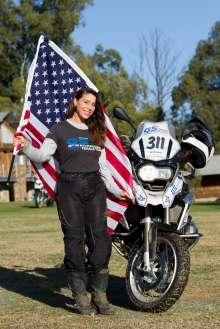 BMW Motorrad International GS Trophy Female Team Qualification, Kim Krause (USA) (09/2015)
