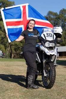 BMW Motorrad International GS Trophy Female Team Qualification, Inga Birna Erlingsdottir (Iceland) (09/2015)